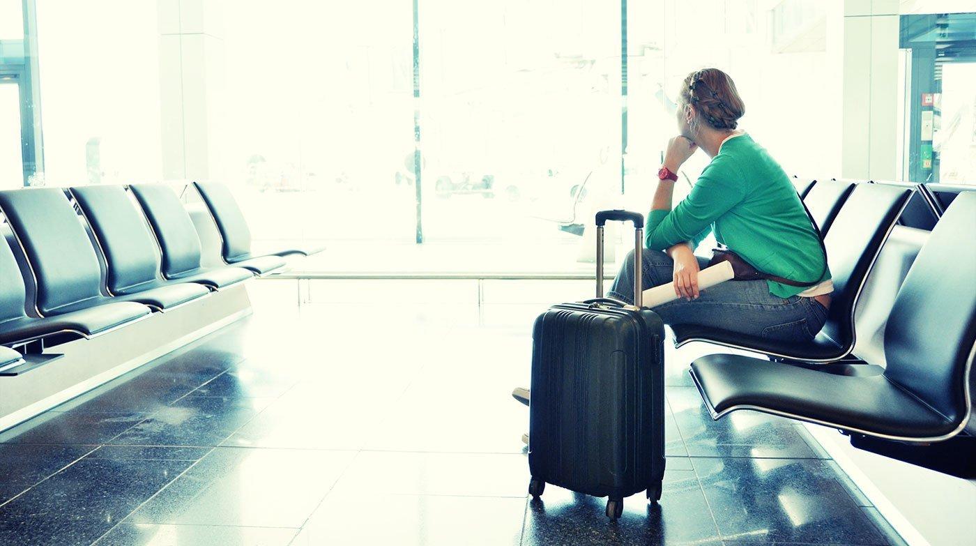 Ventetid i lufthavnen
